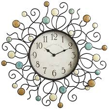 wall clocks galvanized cutout compass wall clock come see the