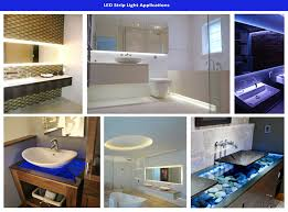 Low Voltage Bathroom Lighting by Led Semi Encapsulated Strip
