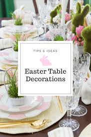 Easter Table Setting Easter Table Decorations U0026 Place Setting Ideas Pizzazzerie