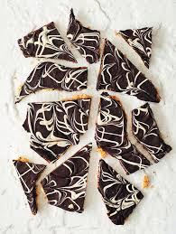 marbled double chocolate matzo bark food u0026 home entertaining