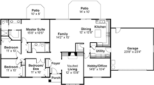 4 bedroom ranch floor plans ranch style house plans 2086 square foot home 1 story 4