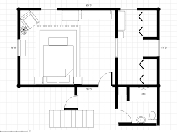 Floor Plans With Furniture 30 U0027 X 18 U0027 Master Bedroom Plans Bathroom To A Master Bedroom