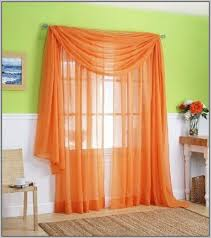 Orange And White Curtains Orange And White Curtains Uk Curtains Home Design Ideas