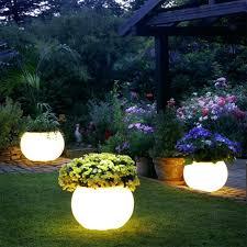 solar spot light reviews solar light outdoor solar lighting ideas white planter solar spot