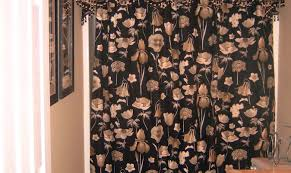Purple And Brown Shower Curtain Shower Enchanting Double Swag Shower Curtains Set Appealing