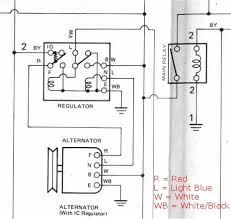 100 gm one wire alternator diagram alternator wiring