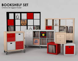 3d Bookshelf Bookshelf 3d Models Download 3d Bookshelf Files Cgtrader Com