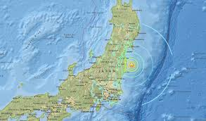 Oregon Earthquake Map by Magnitude 7 3 Earthquake Hits Japan U0027s East Coast Tsunami Warning