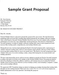 grant proposal template sample formal proposal 5 documents in