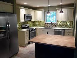 Jackson Kitchen Design by Shaker Painted Cabinets Midwest Kitchen Design Images