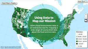Usda Map Growing A Healthier Future Improving Nutrition And Access To