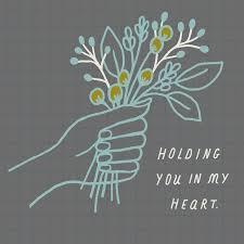 sympathy cards handheld flower bouquet sympathy card greeting cards hallmark