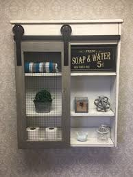 how to install a bathroom wall cabinet captivating farmhouse bathroom wall decor in rustic cabinets best