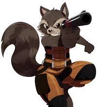 rocket raccoon png images transparent free download pngmart com