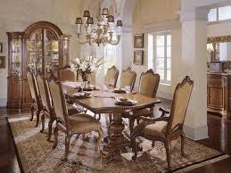 Universal Dining Room Sets Universal Furniture Villa Cortina 130 U0027 U0027l X 48 U0027 U0027w Double Pedestal