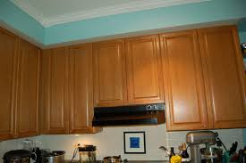 Kitchen Cabinet Bulkhead Baltic To Boardwalk Diy Using Trim To Hide An Ugly Soffitt Or