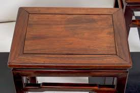 chinese rosewood side table pair of late 19th century chinese rosewood side tables at 1stdibs