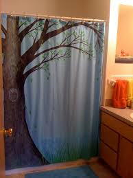 Frankenstein Shower Curtain by Owl Shower Curtain Can Can Dancer