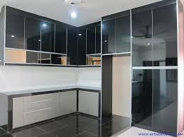 Black Kitchen Cabinet Doors by Intech Kitchen Sdn Bhd New Kitchen Cabinet Design