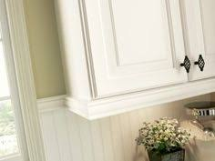 Adding Beadboard To Kitchen Cabinets by Under Cabinet Trim Close Up From U0027love Of Family U0026 Home Beadboard