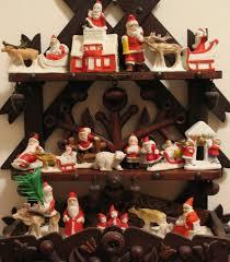 Vintage Christmas Cake Decorations Reindeer by 105 Best German Bisque Santa Images On Pinterest Figurines