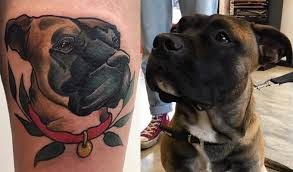25 dog parents who tattooed their pups on their bodies to show