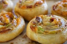 bacon cheddar u0026 leek pinwheels the anthony kitchen recipes