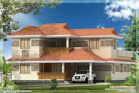 100 kerala style single floor house plan house design of
