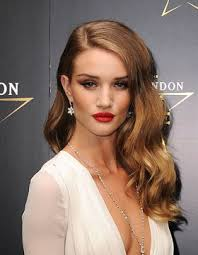 side hair side parting rosie huntington whiteley hair beauty that i
