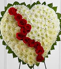 heart wreath broken heart wreath