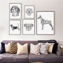 boxer dog wall art abstract dog art online shopping the world largest abstract dog