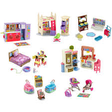 loving family dollhouse furniture learning play time
