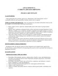 best police chief cover letter and application seeking position of