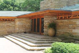 kentuck knob in chalk hill pa the inside of the house is awesome
