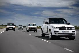 first range rover range rover generations meet for the model u0027s 45th anniversary w