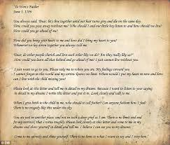 the 500 year old love letter written by a mourning dead man u0027s