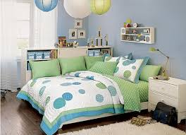 beautiful bedroom design with cute beds for teens home interior