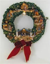 nativity wreath nativity wreaths holidays