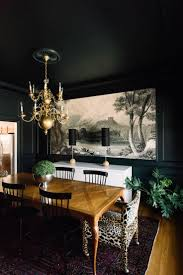 Dark Dining Room Table by Best 25 Dark Dining Rooms Ideas On Pinterest Black Dining Rooms