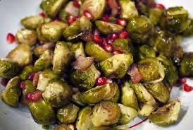 asiest thanksgiving side roasted brussels sprouts with bacon