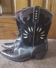 used womens boots size 9 used womens cowboy boots sz 9 ebay