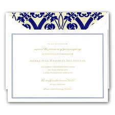Regency Wedding Invitations Regency Bordered White Embassy Wedding Invitations Paperstyle