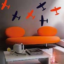 Airplane Wall Decals  Wall Stickers From Trendy Wall Designs - Wall design decals