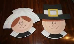 paper plate pilgrims family crafts