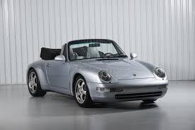 porsche silver 1995 porsche 911 carrera 993 polar silver cabriolet tesla