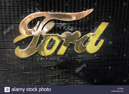 Vintage Ford Truck Grill - ford grill emblem stock photos u0026 ford grill emblem stock images