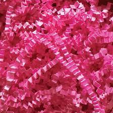 gift basket shredded paper fuchsia crinkle cut shred gift basket shred crinkle paper filler