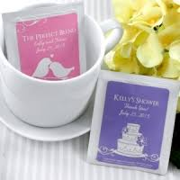 bridal tea party favors wedding tea favors personalized bridal tea favor wedding