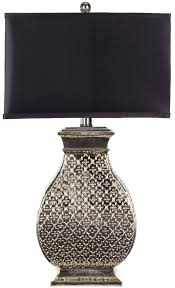 Hammered Metal Table Lamp Lits4064a Table Lamps Lighting By Safavieh