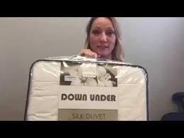 Mulberry Silk Duvet Review Down Under Silk Duvet Review Youtube
